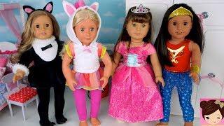 Çocuklar İçin bebek Giydirme - Oyun Oyuncak AG Cadılar Bayramı tek Boynuzlu at, deniz kızı Prenses Kostümleri - Titi Bebek