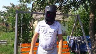 сварочная маска Dnipro M WM-46 обзор  сварочная маска хамелеон