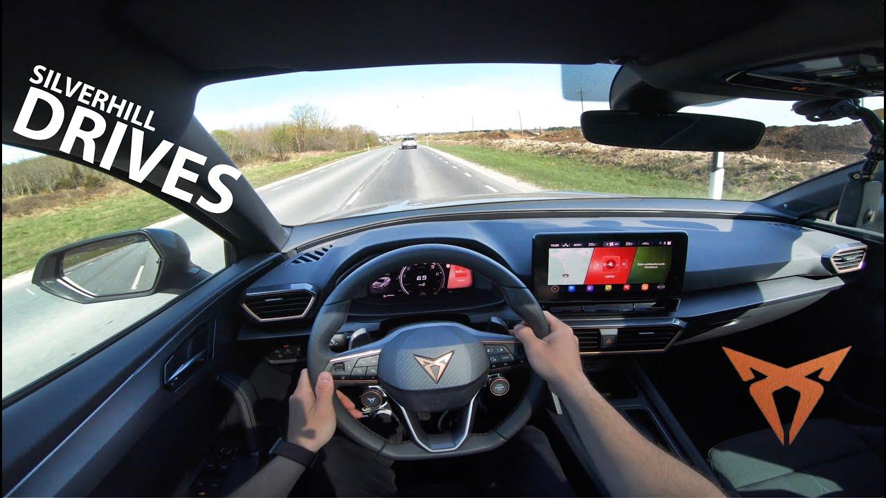 2021 Cupra Leon ST 310HP 4Drive TSI: exhaust sound, launch control and POV drive I 4K