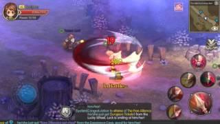 Guardians of Fantasy - Warrior (Lancer) Gameplay