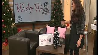 wedge wellies
