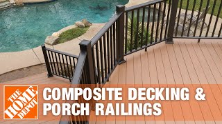 Composite Decking & Porch Railings