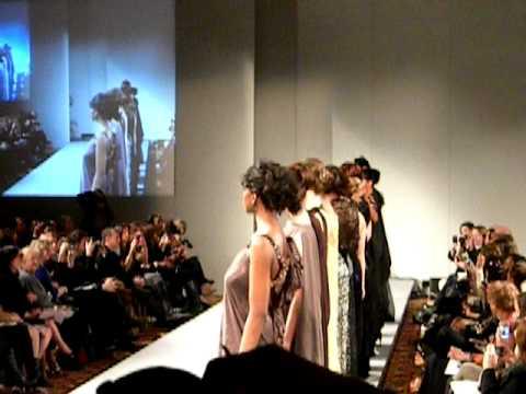 Andres Aquino Couture Fashion Week Feb. 2012 | Patuna Bushyhead from Georgia