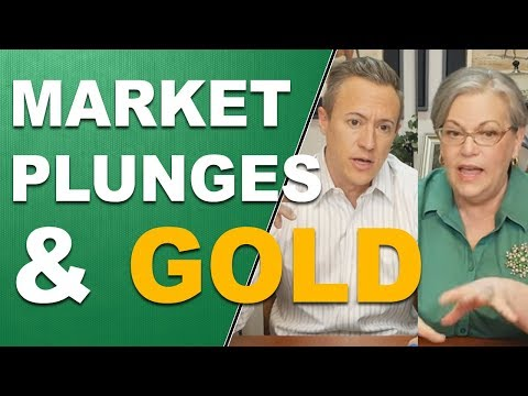 Market Plunges and Gold, Q&A with Eric Griffin and Lynette Zang