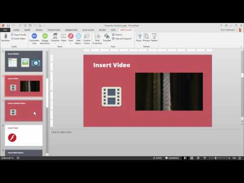 Articulate 360 Tutorial: How to Insert Multimedia into PowerPoint Slides Using Presenter 360