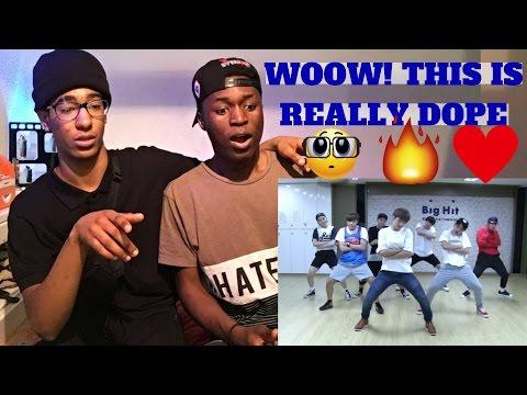 NON KPOP DANCERS REACT TO BTS - DOPE Dance Practice