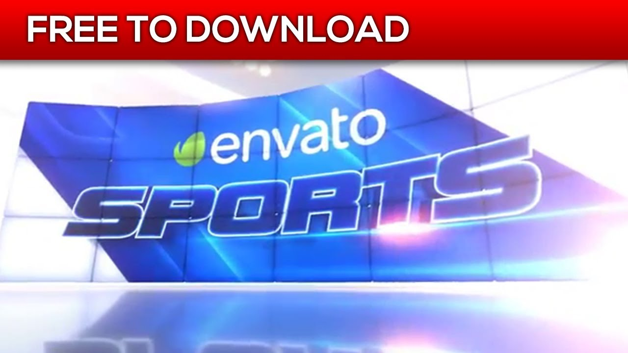 Impact Sports Motion Broadcast Package | After Effects Template ...
