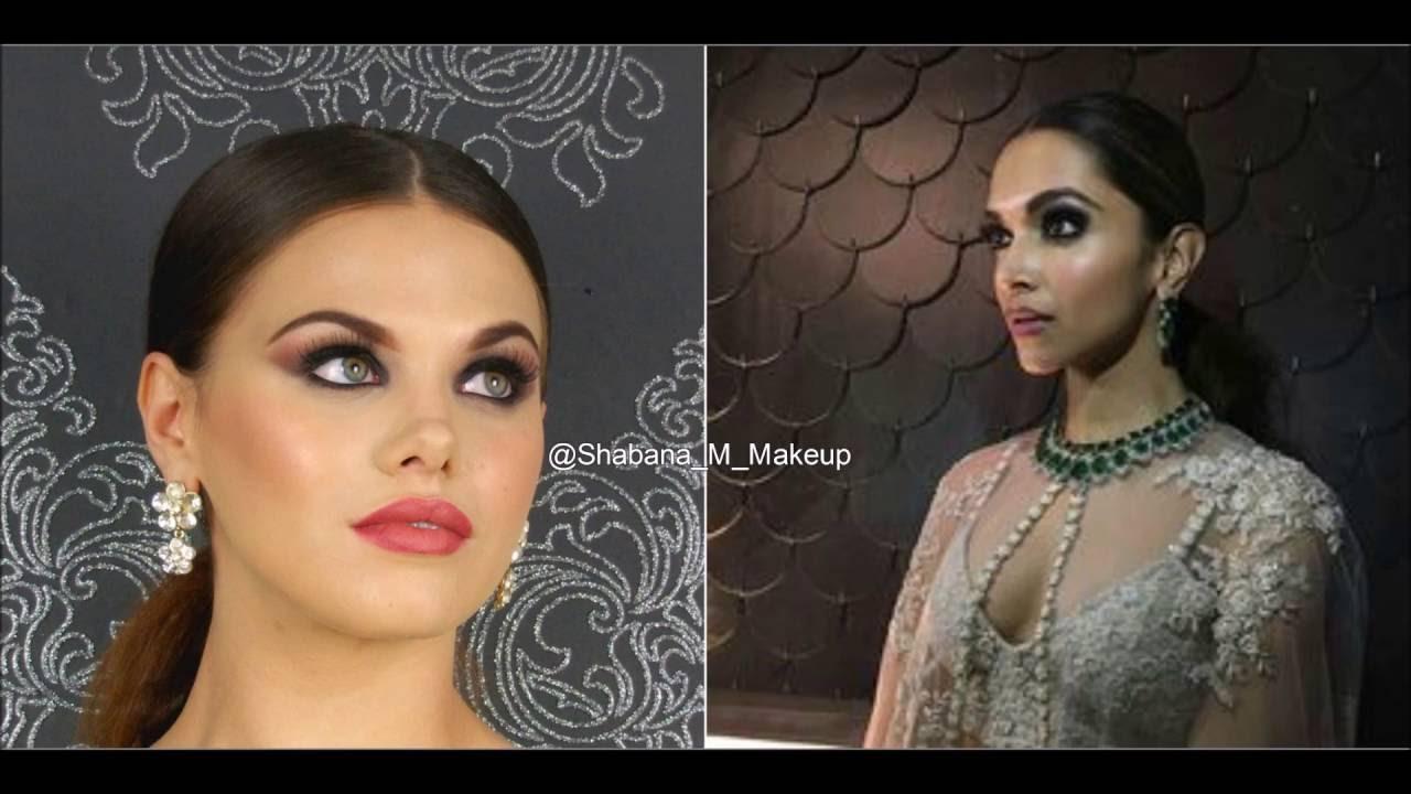 Deepika padukone Inspired iifa awards makeup Tutorial ...