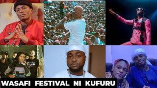 MAUMIVU ya Harmonize KUIKOSA Wasafi festival/Jukwaa Moja na Wizkid,Tiwa Savage, Diamond/Uno Video