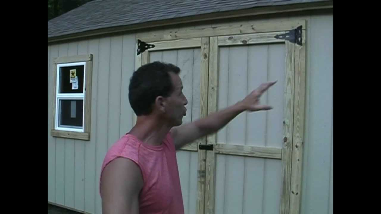 Shed tips 1, Cutting your doors and windows the easy way ...