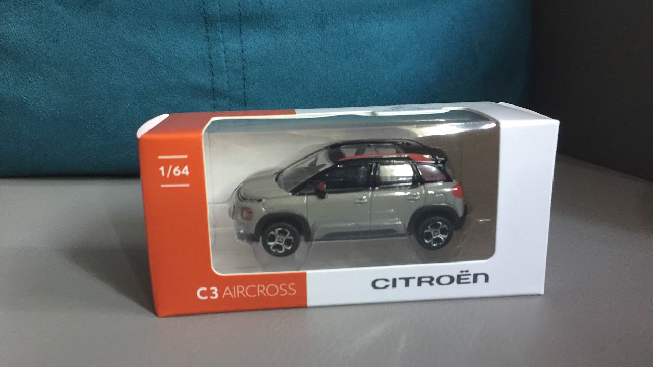 citroen c3 aircross norev 1 64 youtube. Black Bedroom Furniture Sets. Home Design Ideas