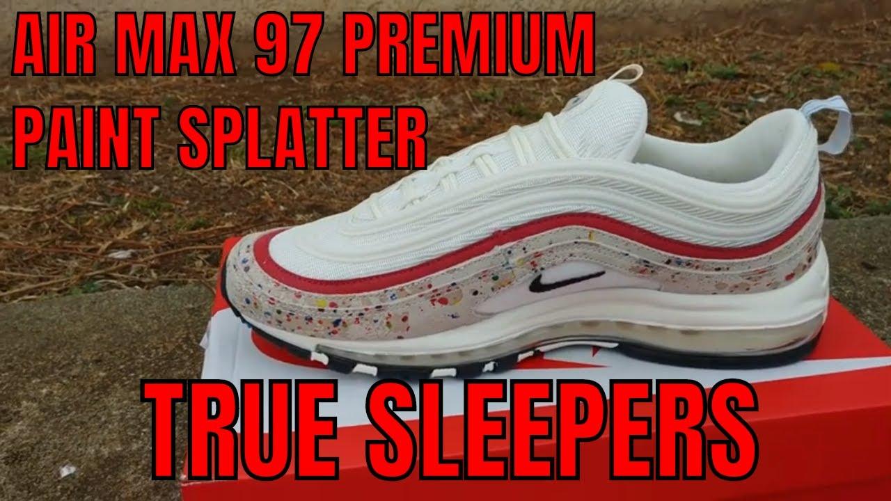 air max 95 paint splatter