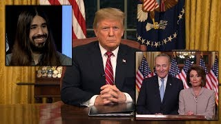 My Response To Nancy Pelosi, Chuck Schumer & President Trump Oval Office Address To The Nation!