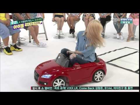 [180p HD] SNSD Weekly Idol – Taeyeon Funny Cut