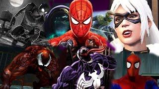 ТОП 10 ЛУЧШИХ ИГР ПРО ЧЕЛОВЕКА-ПАУКА (SPIDER-MAN)!