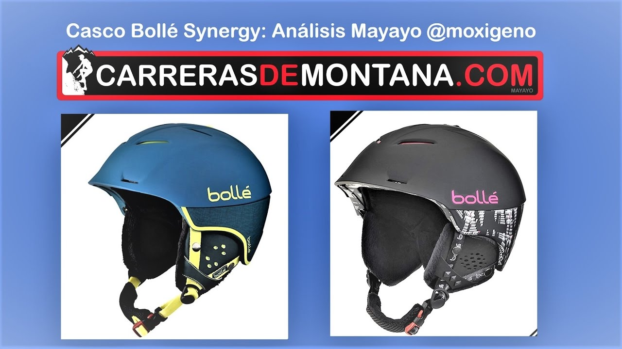 5b556e63ccc Casco esquí Bollé Synergy (490gr)  Análisis por Mayayo  moxigeno ...