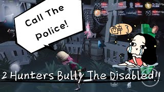 Call The Police! Two Hunters Bully A Disabled Girl Together!