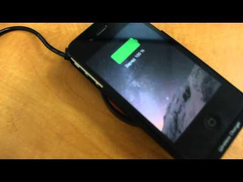 Беспроводная зарядка для iPhone 4, iPhone 4s. Qi смотреть онлайн