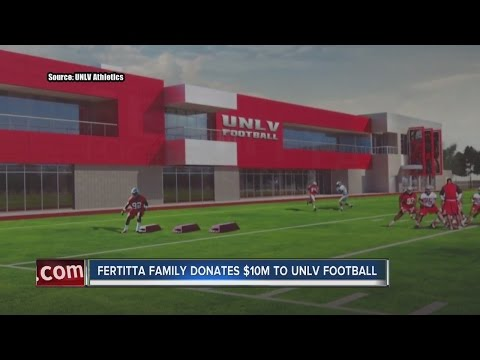 Fertitta family donates $10M to UNLV for new football training facility