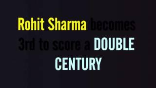 ROHIT SHARMA 209 (158 balls: 12x4, 16x6) VS AUSTRALIA