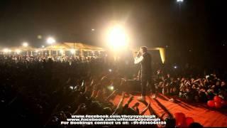yo yo honey singh and mafia mundeer performing in noida @ tech mahindra live part-6