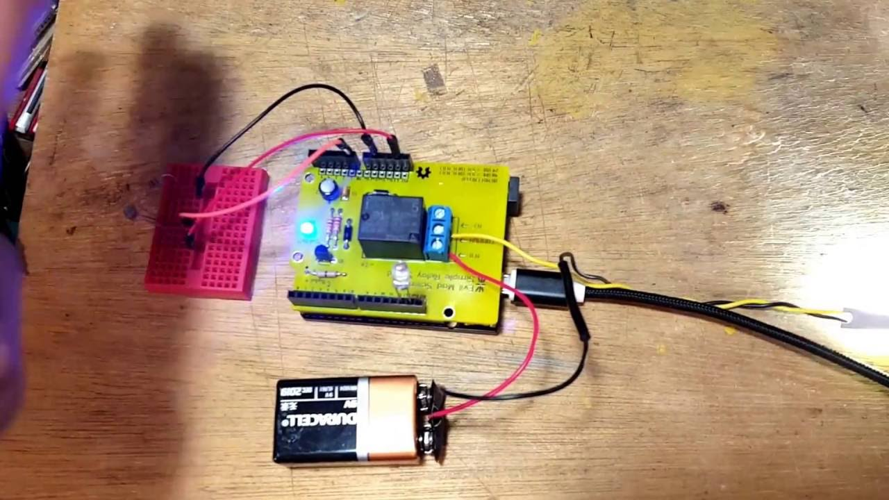 Photo Resistor Akaldr With Simple Relay Shield From Evil Mad Ldr Photoresistor For Beginners In Electronics Scientist