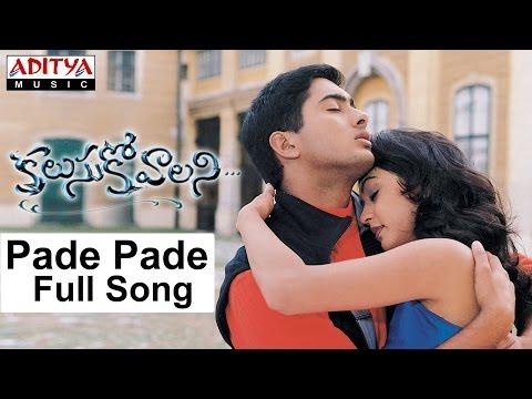 Pade Pade Full Song II Kalusukovalani Movie II Uday Kiran