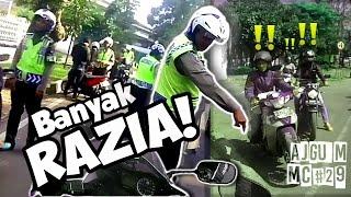 Razia oh Razia..Pada puter balik brosis! | Action cam ga mempan kok | Kompilasi momen razia (MC#29)