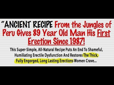 How to get a hard erection