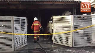 Four burn to death in early morning house fire at USJ 2