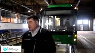 Техосмотр новых автобусов. Видео: Антон БУЦЕНКО.(, 2015-09-04T07:02:40.000Z)