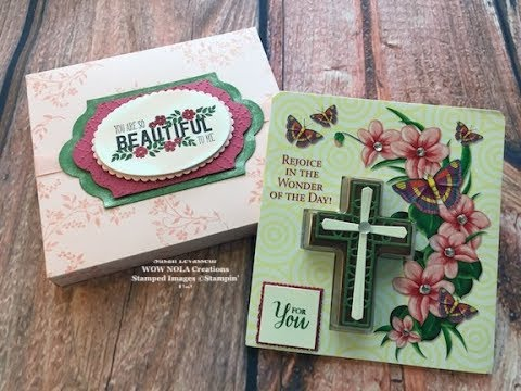 Stampin up hold on to hope easter gift youtube stampin up hold on to hope easter gift negle Image collections