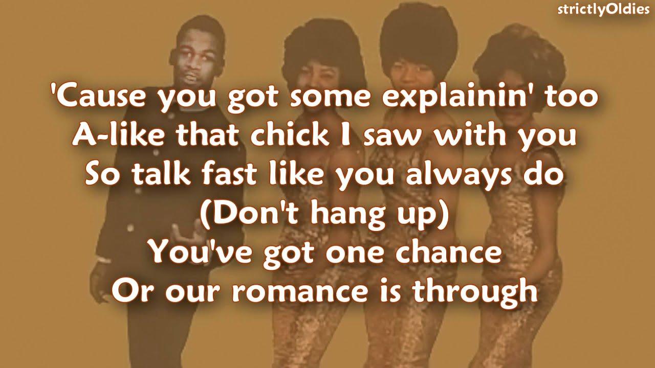 Download The Orlons Don't Hang Up lyrics