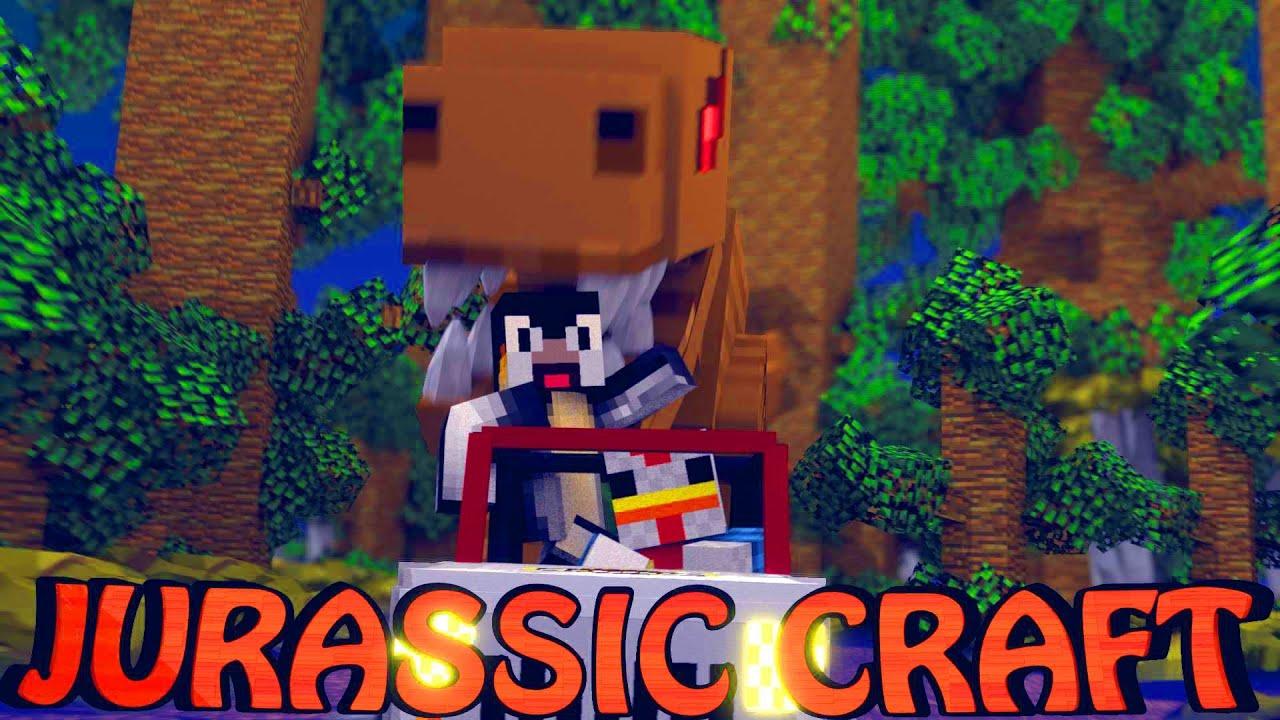 Minecraft dinosaurs jurassic craft modded survival ep 5 for The atlantic craft minecraft