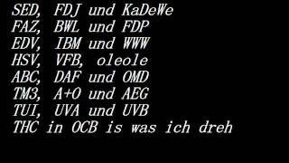MFG (mit freundlichen Grüßen) Fanta4 mit lyrics