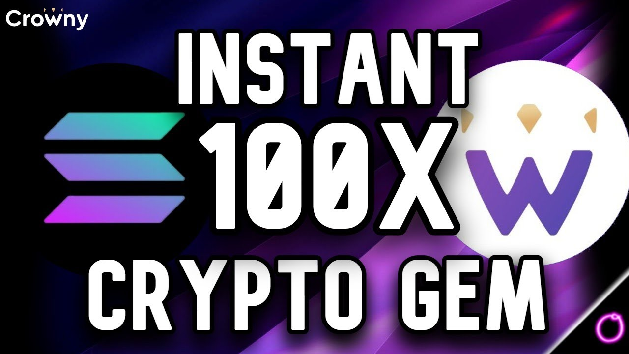 The Hands Down Super Easy Crypto Play 100X (Crowny)