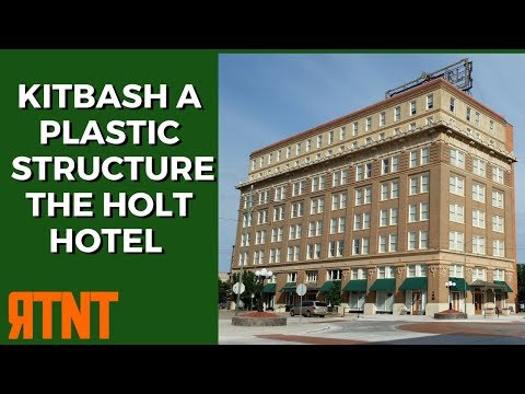 Kitbashing a Plastic Model Railroad Structure - The Holt Hotel Part 1