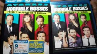 Horrible Bosses: Totally Inappropriate Edition Bluray Unboxing