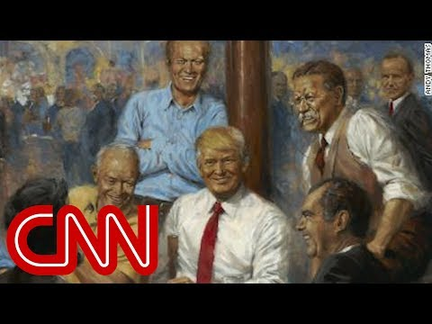Trump\'s favorite portraits of himself