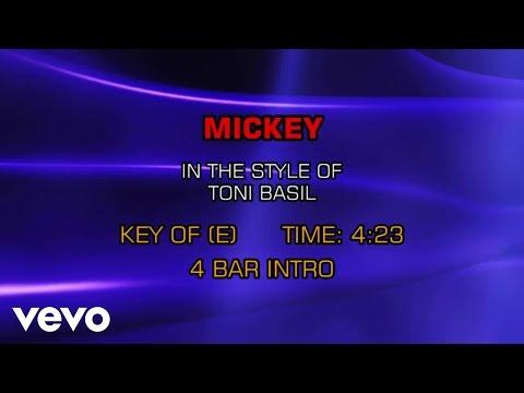 Toni Basil - Mickey (Karaoke)