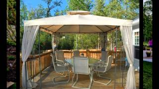 Small patio gazebo ideas