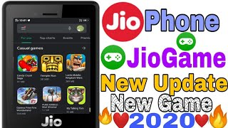 Jio Phone Me Jio Game New Feature  Update On Jio Store !! New Update On JiobGame_(Hindi)