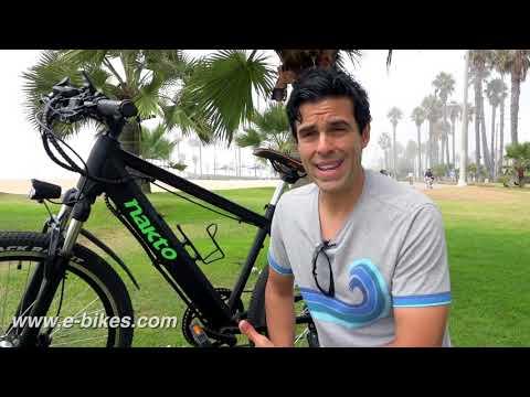 Nakto E-bike--the most affordable and adorable e-bike