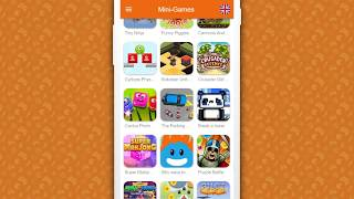 Mini-Games (Android app) more 250+ games in one app