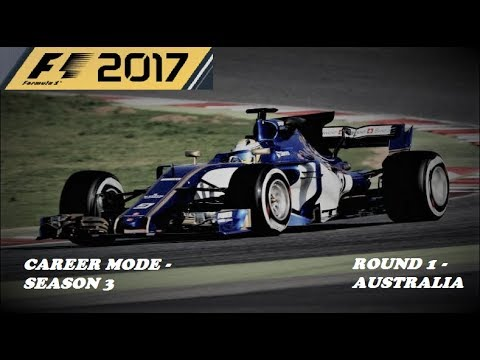 "F1 2017 Career Mode - Season 3 - Round 1 ""VIABLE STRATEGY?! FTW!!"""