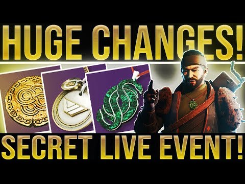 Destiny 2. SECRET LIVE EVENT! Huge Nerfs/Buffs, Destiny 3, Hidden Bounties, New Quests & More! thumbnail