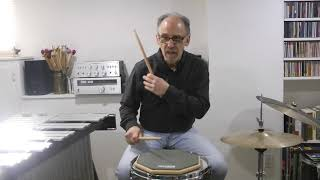 Teaching Single Strokes for Snare Drum, Part 1