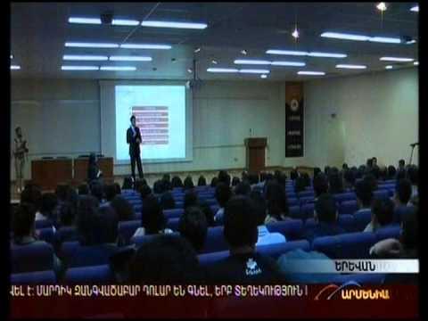 Armenia TV: Ralph Yirikian, VivaCell-MTS General Manager, Discusses Corporate Social Responsibility