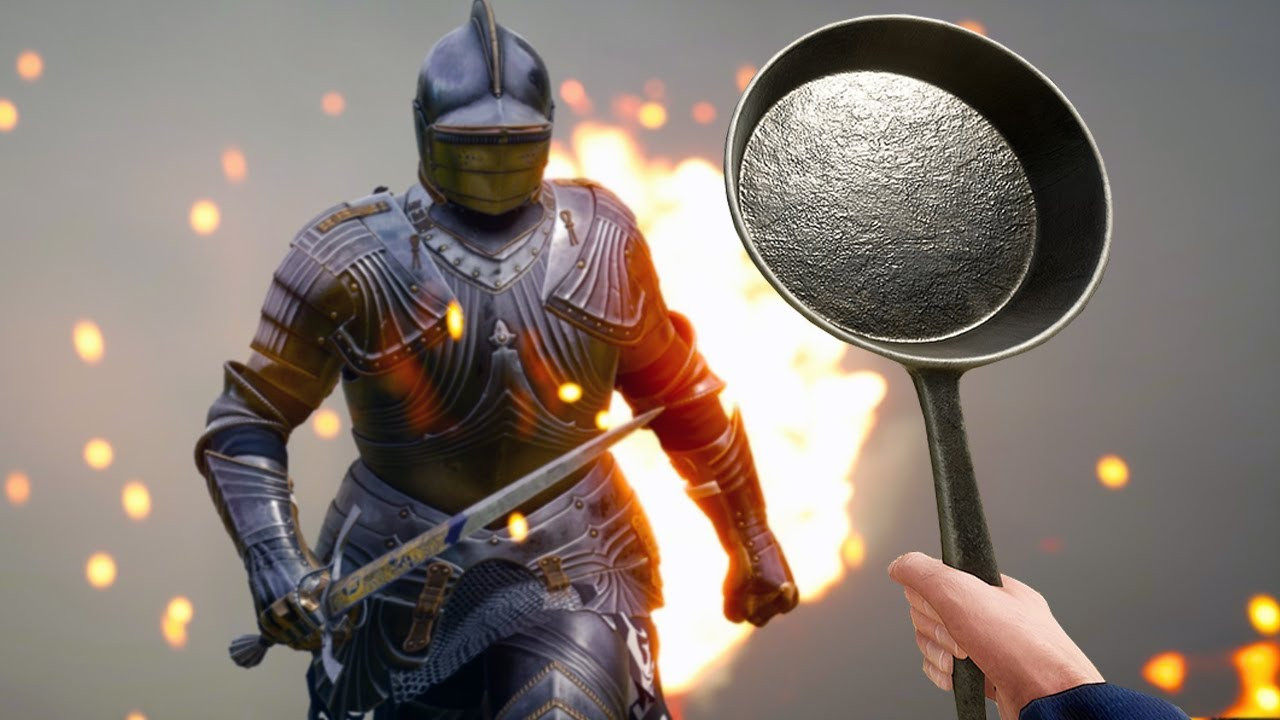 Using Peasant Tools On The Frontlines Of Battle Is Rough Character Building Mordhau Gameplay