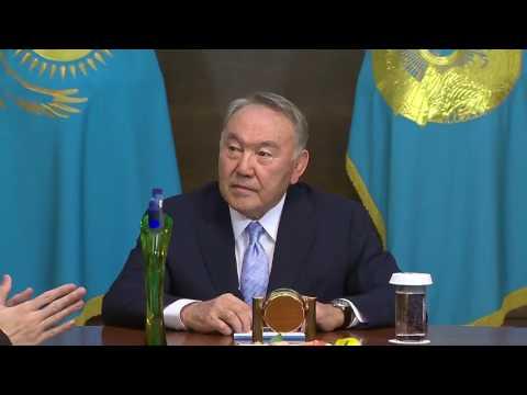 Nursultan Nazarbayev gives his blessing to kazakh singer Dimash Kudaibergen